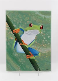 New Original Tree Frog Painting Delta, V4E 2Y2