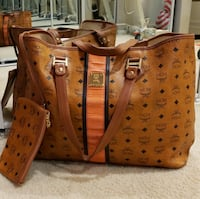 As new bag mcm and wallet 100% autentic original
