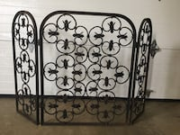 Vintage steel Fireplace screen Mc Lean, 22101