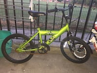 green and black BMX bike Newcastle Upon Tyne, NE3 1SA
