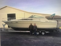 1985 30' Sea Ray Boat with Trailer