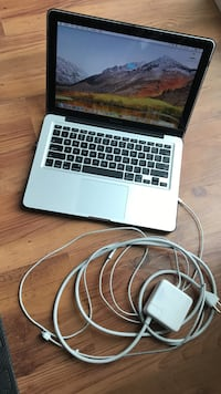 Macbook pro (13-inch, mid 2012) with 60w magsafe charger & speck cover