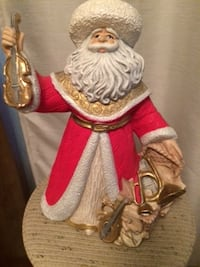 Ceramic Santa - Approx 10 inches London