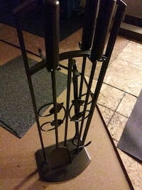 black metal fireplace tool set Suitland-Silver Hill