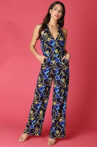 Katrina Flower Jumpsuit (S,M,L Avail)