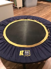 black and yellow trampoline with enclosure Arlington, 22209