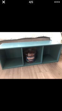 black and gray wooden TV stand Rancho Cucamonga, 91739