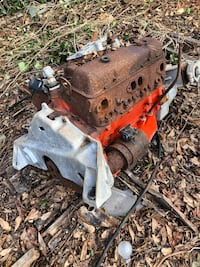Old motor from Chris-Craft boat.