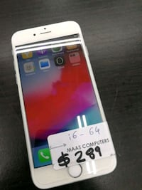 Apple iPhone 6_64Gb silver in new like condition. Toronto, M9V 1L2