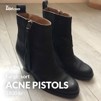 Acne Pistols (sort) Oslo, 0452