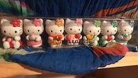 Hello kitty mini figurines.  Perfect Desk/ cake toppers Richmond, 94803