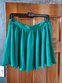 Green Pleated Skirt Sachse, 75048
