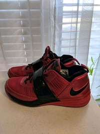 Red and Black Mens Nike Shoes Wolfforth, 79382