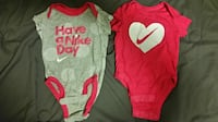 Two Nike onsies for Girls Toronto