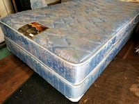 double mattress 120 box 40 delivery 30. clean pet smoke free Edmonton, T6E 0X4