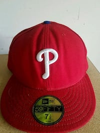 Phillies fitted hat 7 1/2 Jamestown, 27282