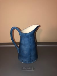 Blue and white ceramic pitcher Orange Park, 32065