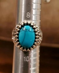 Turquoise and Silver Ring Sz 9 Gainesville, 20155