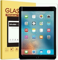 Glass screen protector for iPad 9.7  7 mi