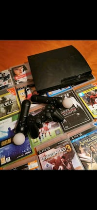 Playstation 3  +20-25 oyun +ps3 cam +Movie controller