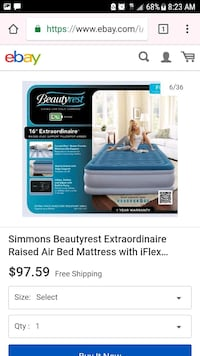 Full Size Air Mattress  Las Vegas, 89104