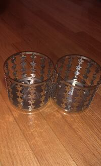 Bath and Bodyworks candle holders – set of 2