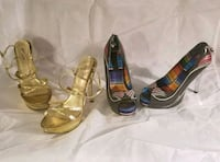 2 gorgeous pairs of heels size 8 30$ for both  Kingston, K7K 2L1