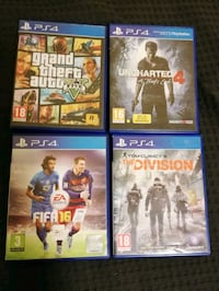 Playstation 4 original games Burnaby, V5H 1C1