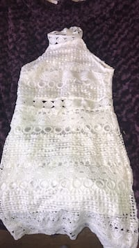 white laced dress size small Brampton, L6V 2T8