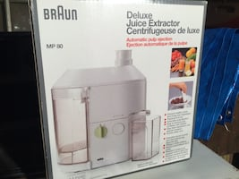 Braun Food Extractor New In Box Never Used $50.00