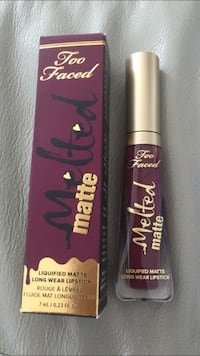 "Bnib Too Faced Melted Liquified Matte Lipstick ""On Point"" from Sephora reg $25 Milton, L9T"