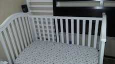 Baby Crib to toddler day bed