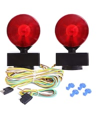 Magnetic Towing Light Kit for RV And Truck Magnetic Strength 22 Pounds