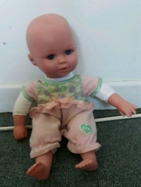baby doll in white and green dress Dartmouth, B3A 4H5