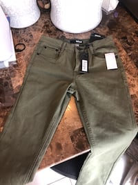 Hunter green jeans with tags sz 14 kids  Houston, 77073