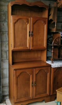 Solid Maple wood unit / cabinet by Vilas Canada Toronto, M2J 2C4