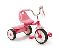Radio Flyer Ready to Ride Tricycle Toddler Bike Pink