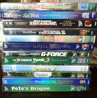 Disney DVDS 14 Movies in 12 Packages All NEW!!