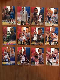 Lot 12 premium USA basketball cards flair with hall of famers. Northport, 11768