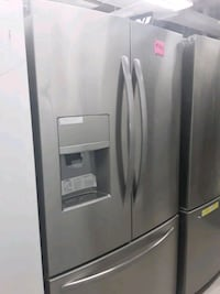 Frigidaire French doors refrigerator in excellent condition