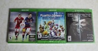 Unopened Xbox One games for sale ($15 - $30)