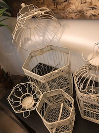 Set of 3 Decorative Bird Cages Silver Spring, 20910