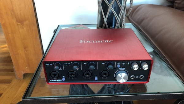 red and black portable generator