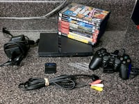 PS2 Slim with 7 games & memory card  Alexandria, 22305