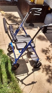blue and black rollator walker London, N6E 2H9
