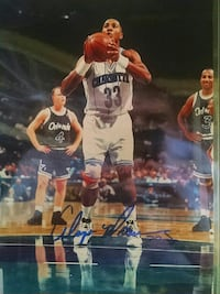 Alonzo Mourning autographed 8 x 10 photo Melbourne, 32901