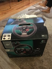 GT steering wheel game controller box