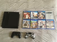 PS4 with games and extra controller Miami Lakes, 33016