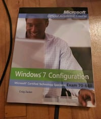 Microsoft Official Accademic Course Exam Lab 70-680 Windows 7 Config Montreal