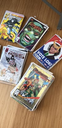 145 comic books, mix of Marvel, Image and others Cambridge, 02140